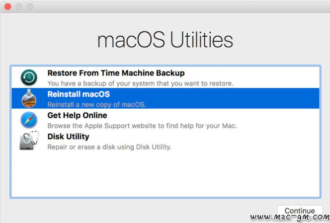 Mac电脑如何重装系统图文教程-特务兔